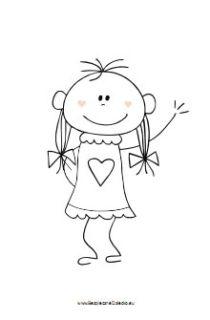 kolorowanka-dziewczynka