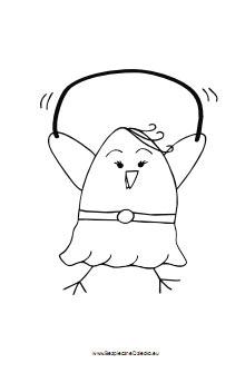 kolorowanka-kurczak