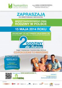 Plakat_Dwie godziny dla Rodziny