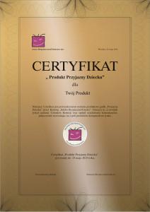 Certyfikat-BezpieczneDziecko-demo
