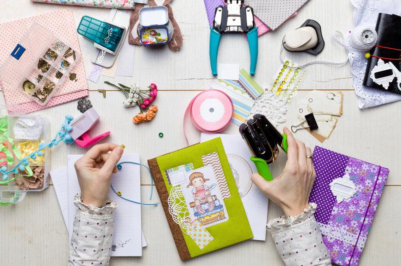 scrapbooking - kreatywna zabawa z dziecmi
